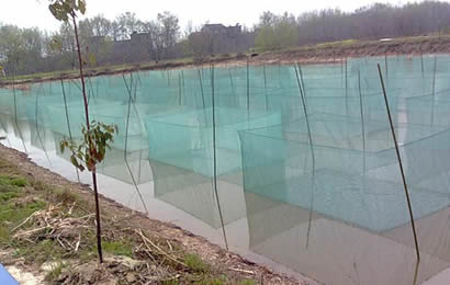 Fish net is strong durable bearing resistance for Fish breeding net