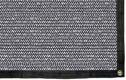 A piece black 50% shade rate agriculture shade net
