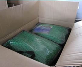 2 bags cargo nets with label put in carton